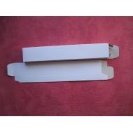 caja abanico carton blanca