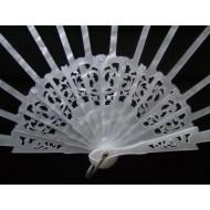 Ribs hand fans N 9.5 x 24.5 cms C3